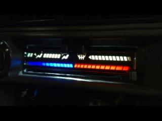Подсветка печки 2114 ставим диодную ленту и как заменить лампочки