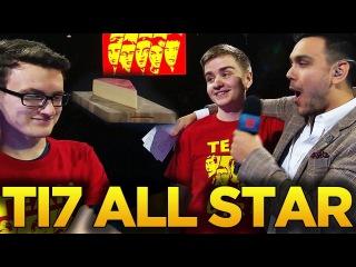 TI7 ALL STAR MATCH - TEAM RADIANT VS TEAM DIRE - DOTA 2