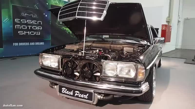 Mercedes-Benz W123 Coupe 1983 Tuning 2.8 M104 193ps, Airride-Fahrwerk, BBS RS R16.mp4