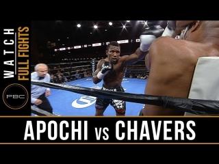 Efetobor apochi vs aaron chavers (hd 1080)