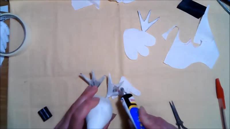 Гусь лапчатый обыкновенный часть 1 Кукольная мастерская Елена Диденко 720p