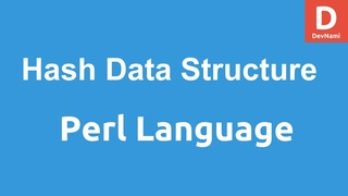 Perl Programming Hash Data Structures