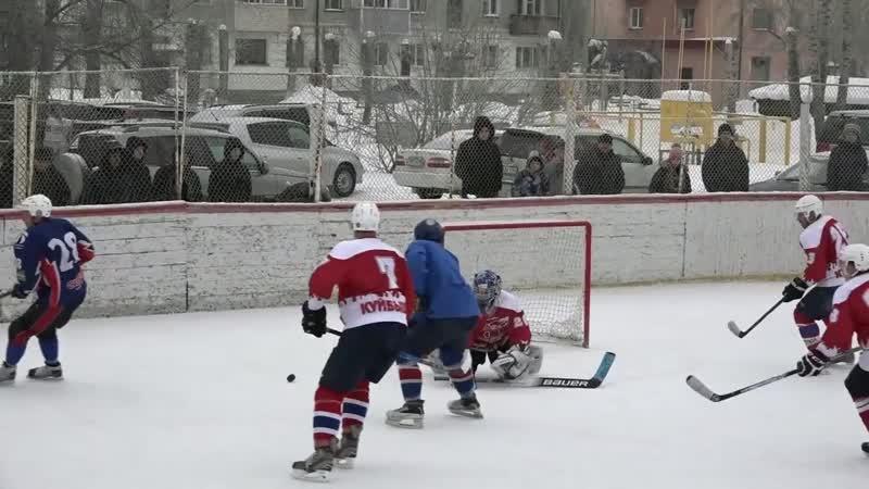 Обзор матча ХК Факел Куйбышев ХК Рыси Маслянино Чемпионат Новосибирской области по хоккею