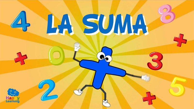 Aprendiendo a sumar La Suma Vídeos Educativos para niños