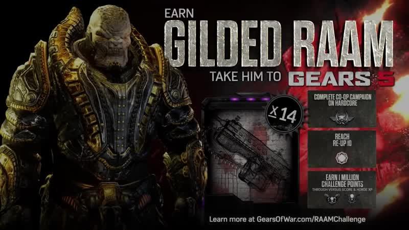 Gears of War 4 Official Trailer_ Gilded RAAM Challenge