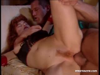 Рыжая бестия Fovea и гражданка из Техаса TJ Hart оттраханы в два ствола ( anal DP private fetish груповуха прон отсос камшот )