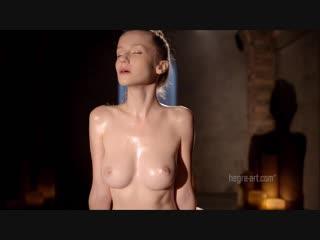 Hegre-art.com 2013-10-08 emily - naked nuru chair massage