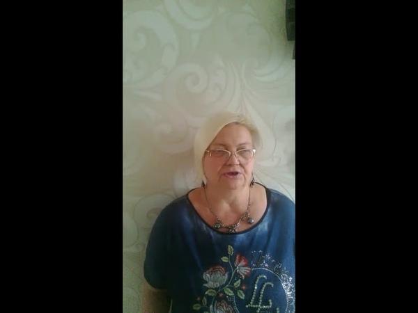 Видеоотзыв на тренинг Аделя Гадельшина от Безгласной Марианны