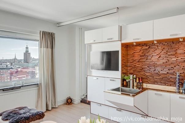 Квартира 30 кв. м в Дании