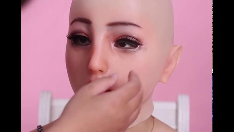 EYUNG Emily mask makeup video male to female transformation CORSSDRESSER
