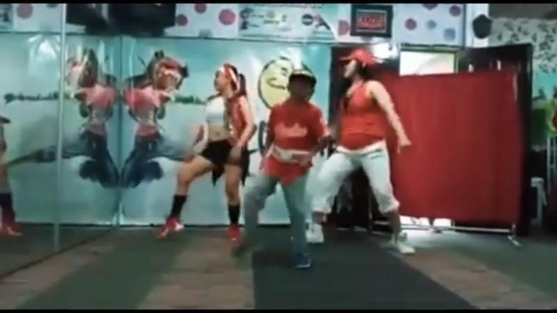 Bocah Zumba Dance Bersama Mama Muda Part 2