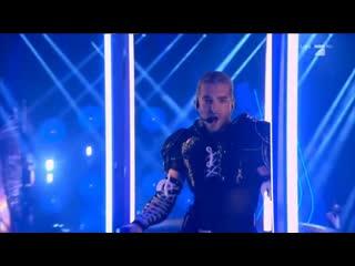 Germany's Next Top Model Final: Tokio Hotel - Melancholic Paradise & When It Rains It Pours Live -