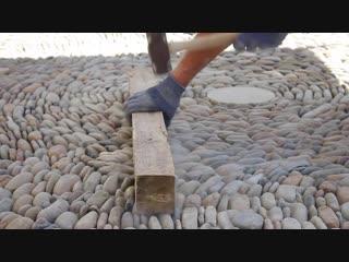 Kevin carman - pebble mosaic artist