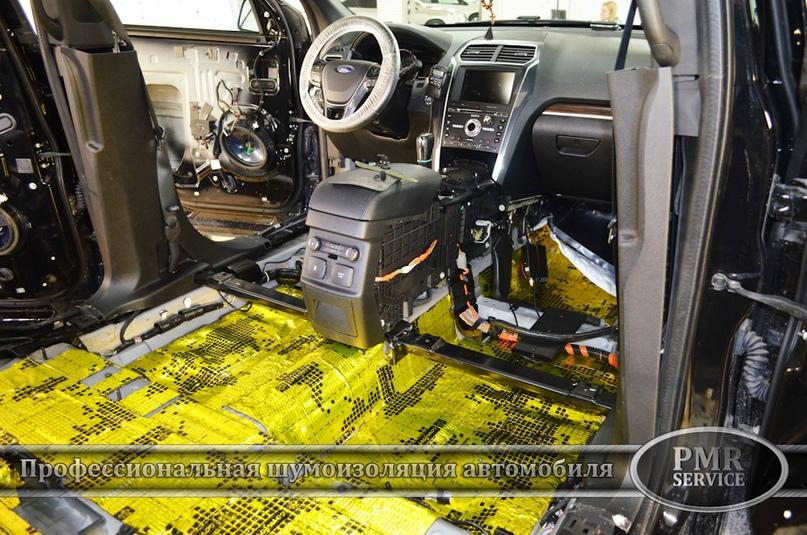 Шумоизоляция Ford Explorer, изображение №4