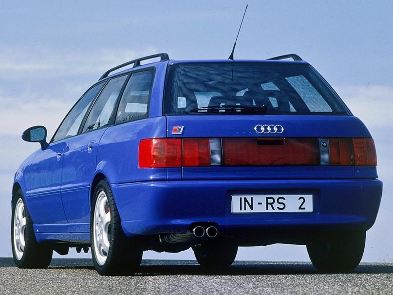 1994 Audi Avant RS2 — Авто подарившее жизнь Порше, изображение №4