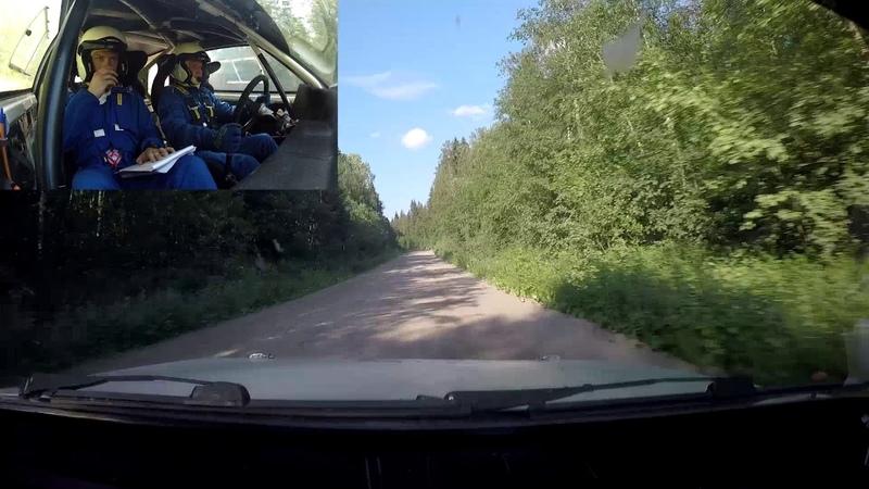 Ралли Белые Ночи 2019 СУ 3 Аккахарью Шангин Квасников