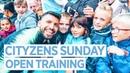 OPEN TRAINING CITYZENS SUNDAY