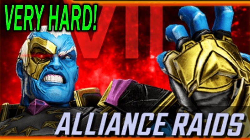 Ultimus 7 Very Hard First Attempt Marvel Strike Force MSF