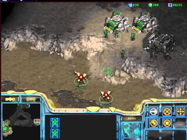 Starcraft Brood War [FPVOD] PuBepoH-терран, урок 1 (прокси-Gundam-rush и Joyo-rush TvP)