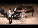Moszkowski Suite for Two Violins Piano 4th mvt G Schmidt B Hristova V Asuncion