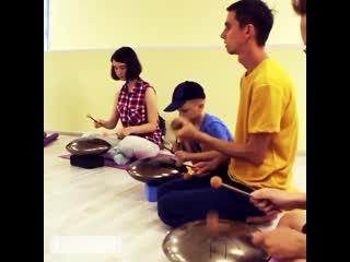 Звучим Вместе - школа игры на язычковых барабанах ( аналог ханг, hang, handpan  драм ).mp4