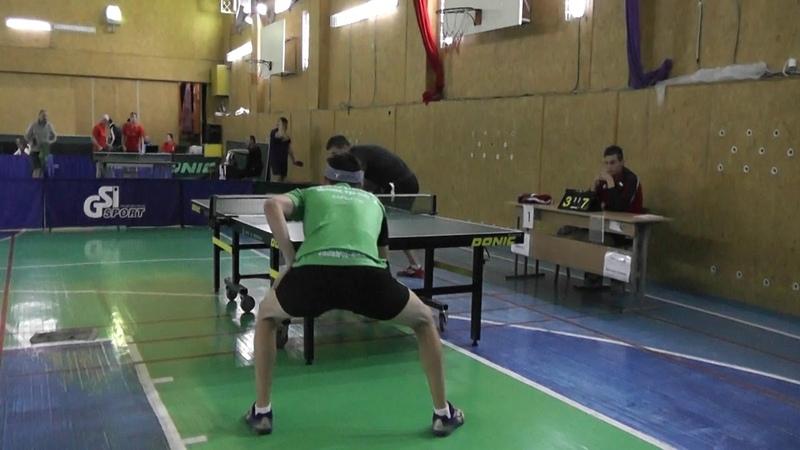 Цубера Роман - Куценко Дмитрий, 1 тур КЧУ Первая Лига, сезон 20182019.