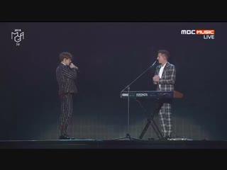 Bts national 181106 mbc plus ч genie music awards bts amp; charlie puth fake love #bts #btsatmg