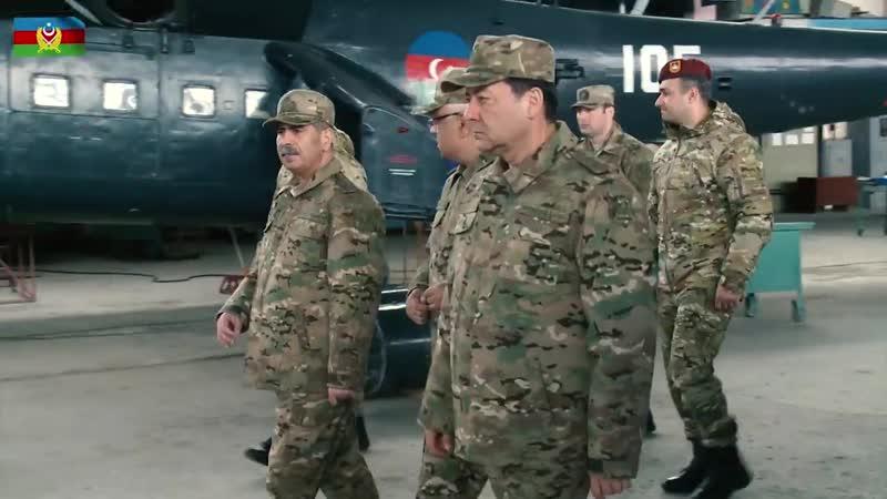 Müdafiə naziri HHQ-nin təlim-məşq mərkəzinin açılışında iştirak edib - 19.04.2019