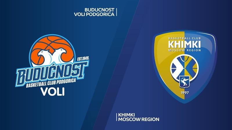 Buducnost VOLI Podgorica - Khimki Moscow region Highlights   Turkish Airlines EuroLeague RS Round 22. Евролига. Обзор. Будучность - Химки