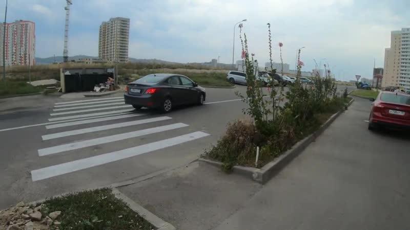 Пешеходный переход в Мусорку! Жителей Анапы заперли в Горгиппии с одним выездом.