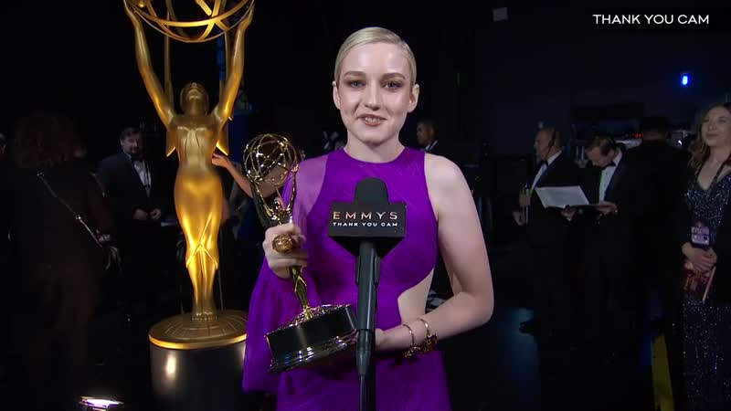 71st Emmys Thank You Cam Julia Garner From Ozark Television