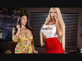 Angela white, nicolette shea [full hd 1080 porn, sex, big ass, natural tits, boobs, busty, ffm, cum in mouth, swapping, hardcore