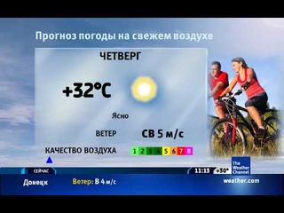 The Weather Channel: Local on the 8s - 20.06.2019 г. (11:10 по МСК времени)