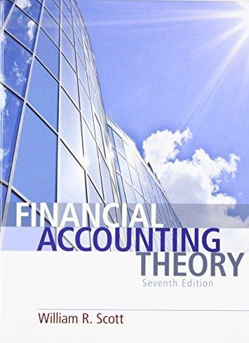Financial Accounting Theory, 7th Edition