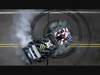 Toyo tires ken block's climbkhanapikes peak featuring the hoonicorn v2