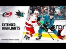 Carolina Hurricanes vs San Jose Sharks | Oct.16, 2019 | Game Highlights | NHL 2019/20 | Обзор матча