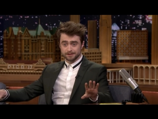 [the tonight show starring jimmy fallon] daniel radcliffe reacts to harry potter memes