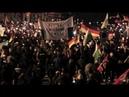"""Chemnitz: """"Merkel kommt zu spät"""" - Hau ab-Chor und Lieder gegen Besuch der Bundeskanzlerin"""
