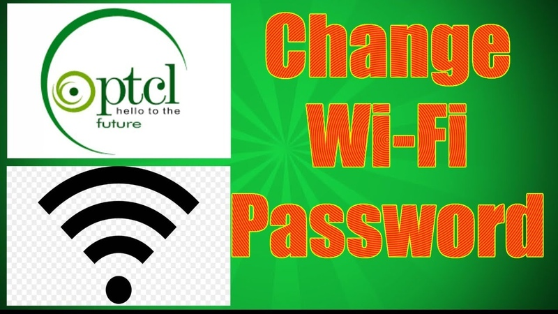 How to Change PTCL WiFi Password? 2019
