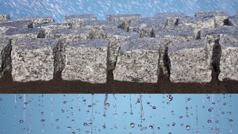 TDM Трассовый дренажный раствор дРя устройства водопроницаемого подст