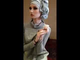 """модель """"Photomodel style"""" на фотосессии для мусульманского бренда """"Mirral"""" (backstage)"""