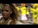 Супер афро бразильянка танцовщица самбы на карнавале в Рио 2016