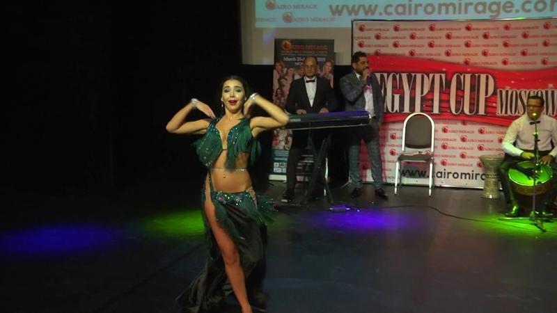 EGYPT CUP 2018 SUPERSTAR GALASHOW MARGARITA SAVCHENKO