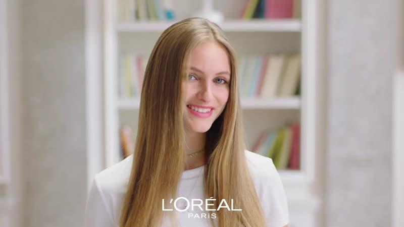 Beatrice Vendramin sceglie L'Oreal Paris Elvive Dream Long per i suoi capelli lu