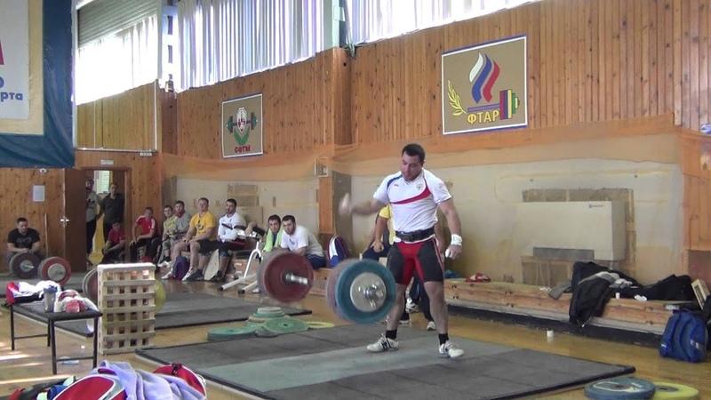 Kireev Rinat - clean jerk 225 kg