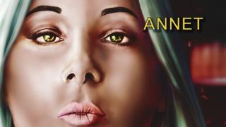 Annet. Cyberpunk - Anna Kostenko fan-art - digital painting process