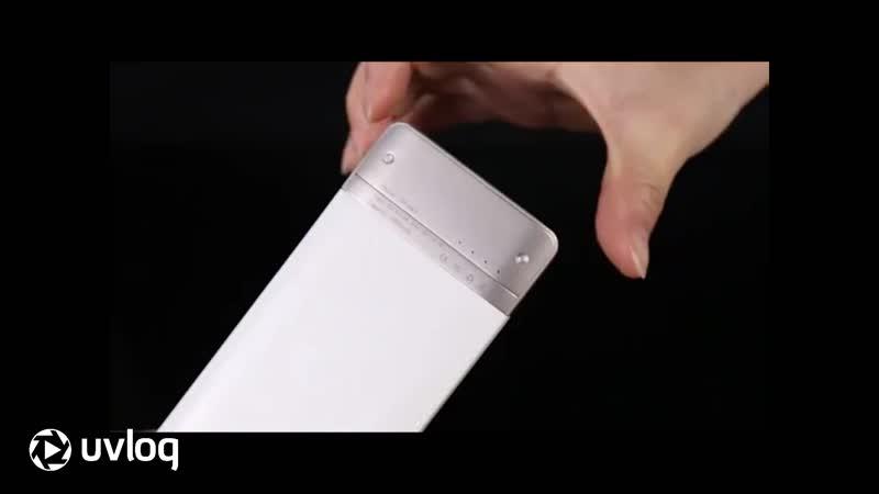 Ультратонкий внешний аккумулятор WST DP661 Power bank 4000 мАч белый