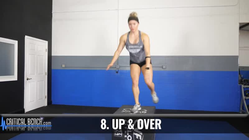 15 MUST DO Plyometric Box Exercises __ Build STRENGTH Increase POWER