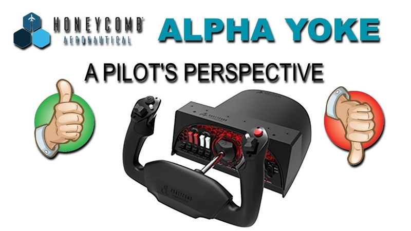 Honeycomb Alpha Yoke: A Pilot's Perspective