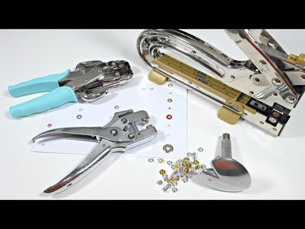 Review Herramientas para colocación de ojales Colocando ojales perfectos
